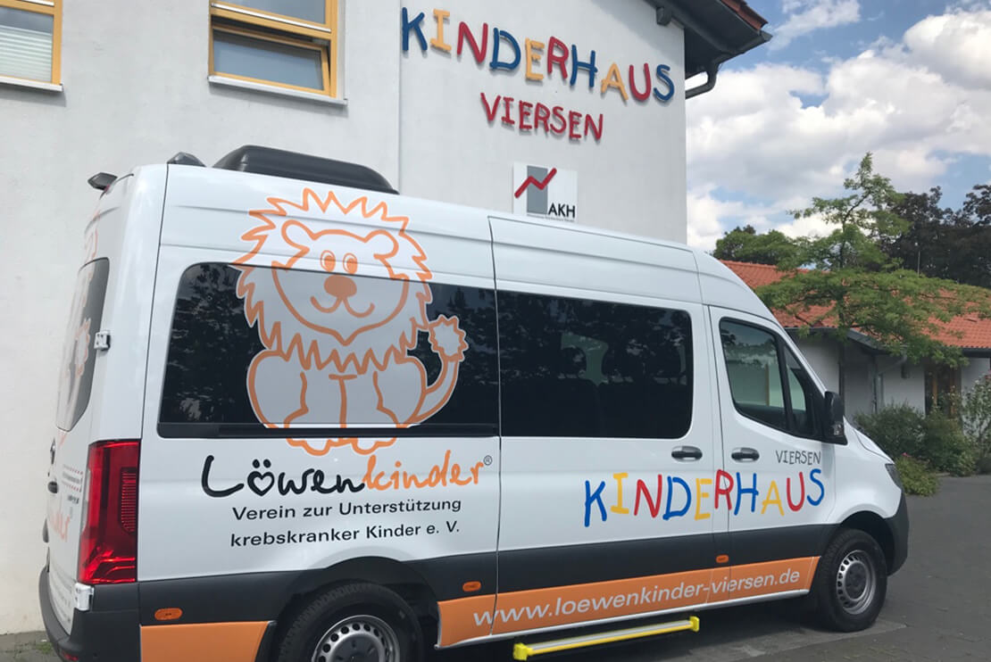 The car of the children's home Viersen